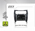 Pure Android headunit car dvd gps for toyota camry(2012) US version