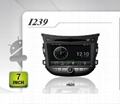 Pure Android headunit car dvd gps for HYUNDAI HB20