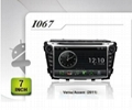 Pure Android headunit car dvd gps for HYUNDAI Verna/Accent(2011)