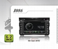 Pure Android headunit car dvd gps for Kia Soul