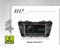 Pure Android headunit car dvd gps for Mazda5(2010-2011)