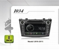 Pure Android headunit car dvd gps for Mazda3(2010-2011)