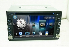 6.2inch head unit Car DVD GPS Player ipod Bluetooth (Hot Product - 2*)