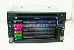 6.2inch head unit Car DVD GPS Player ipod Bluetooth (Hot Product - 1*)