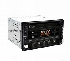 6.2inch head unit Car DVD GPS Player ipod Bluetooth