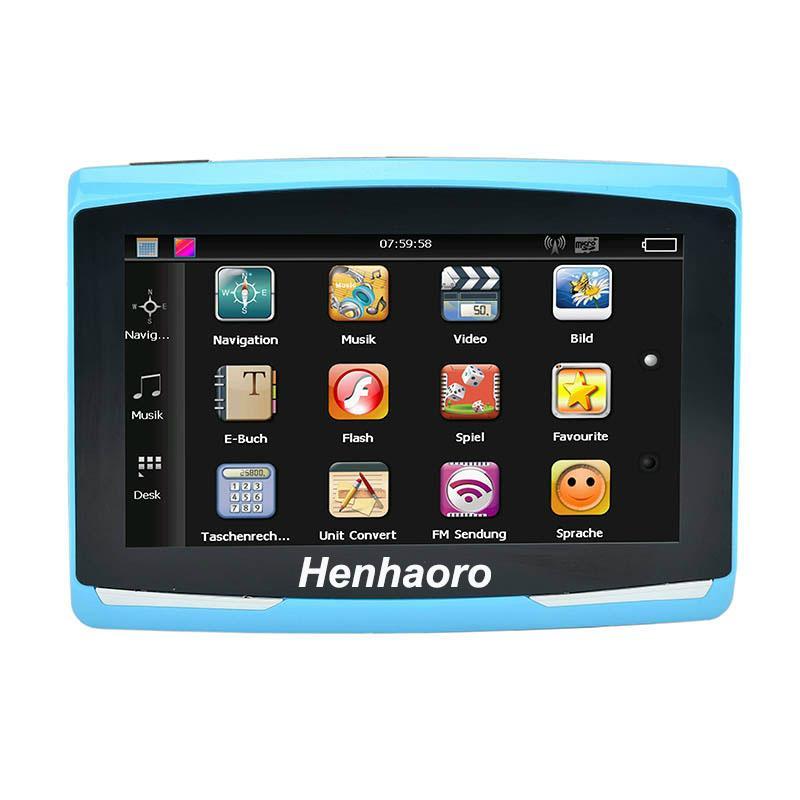 """5"""" Touch screen Car GPS Navigation Sat Nav CPU800M Wince6.0 FM Transmitter Multi 1"""