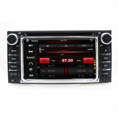 "6.2"" In dash head unit Capacitive touch screen car dvd player gps for RAV4 corol"