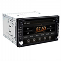 "Touch Screen car dvd player gps navigation Bluetooth FM 6.2"" 2din in dash TFT su 2"