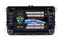 "for VW Touch Screen car dvd player gps navigation Bluetooth FM AM 7"" 2din  2"