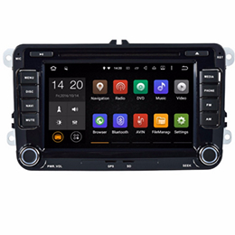 """Quad Core 1024*600 Android wifi 7"""" In dash car dvd player gps nav for vw Jetta G 1"""
