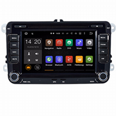 "Quad Core 1024*600 Android wifi 7"" In dash car dvd player gps nav for vw Jetta G"