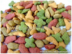 Pet and animal food machine