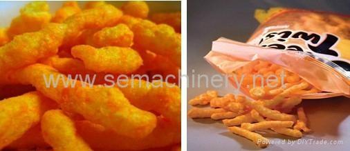 玉米脆膨化食品生产线 1