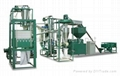 Corn processing equipment