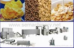 早餐膨化食品生产线