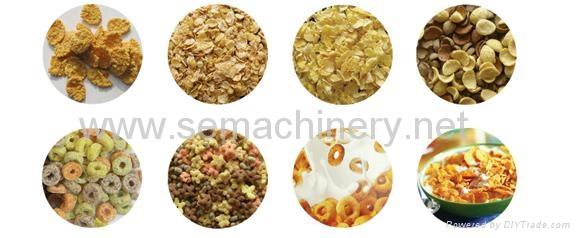 早餐膨化食品生产线 2