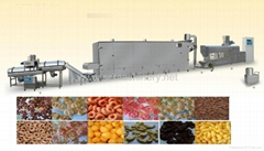 休閑膨化食品生產線