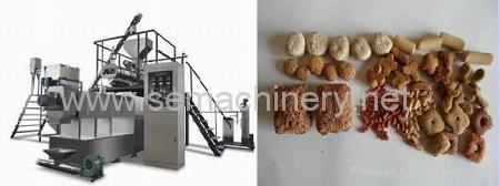 膨化休闲食品机械 2