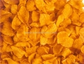 Breakfast extruded flakes processing