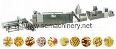 co-extruded snacks machine