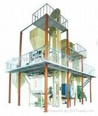 懸浮魚飼料設備