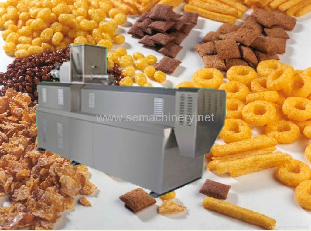 Industrial Food Products : Twin screw extruder dsdz series saixin machinery