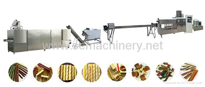 咬膠型寵物食品生產線 2