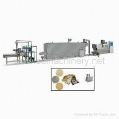 Extrusion modified starch machine