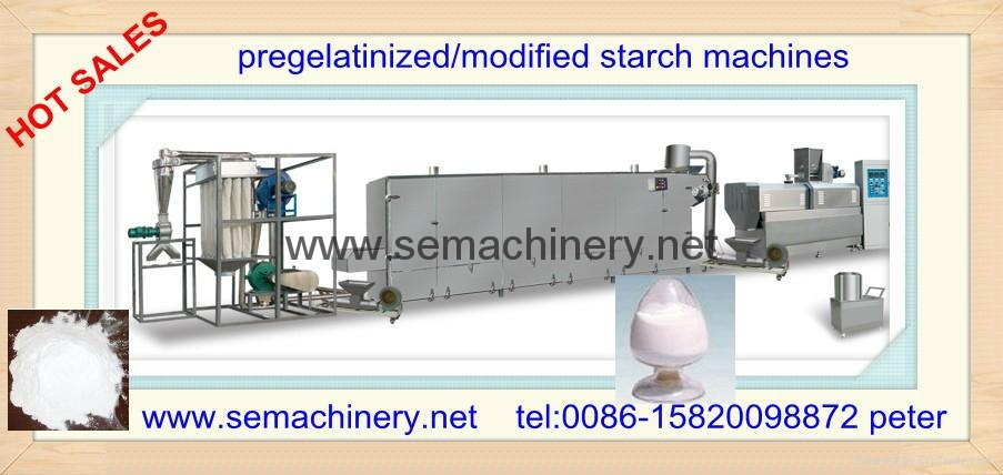 modified starch machine for paper making  1