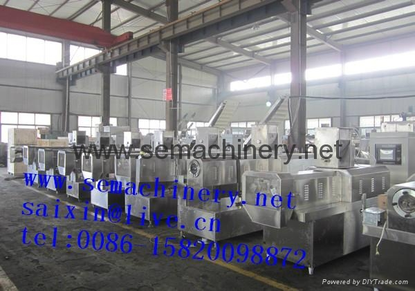 Oil drilling Starch Extruder machine 5