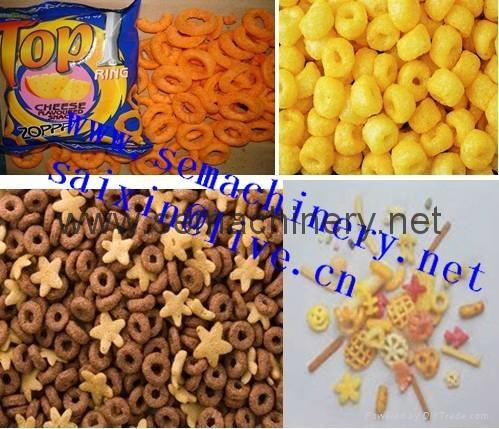 早餐谷物膨化食品设备 5