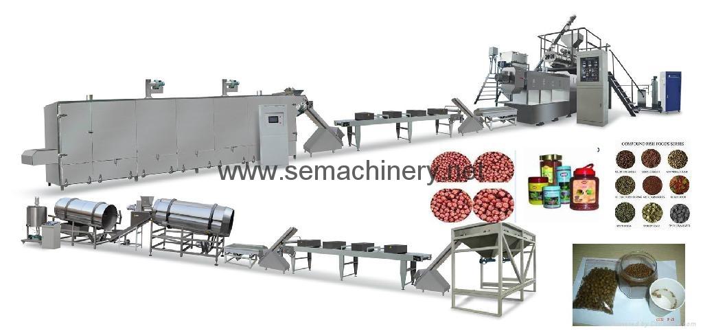 fish food processing line 3