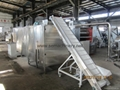 Automatic bread crumbs processing line