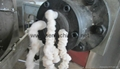 Modified starch for drilling oil processing line