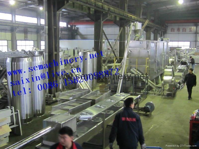 膨化魚餌飼料生產線 1