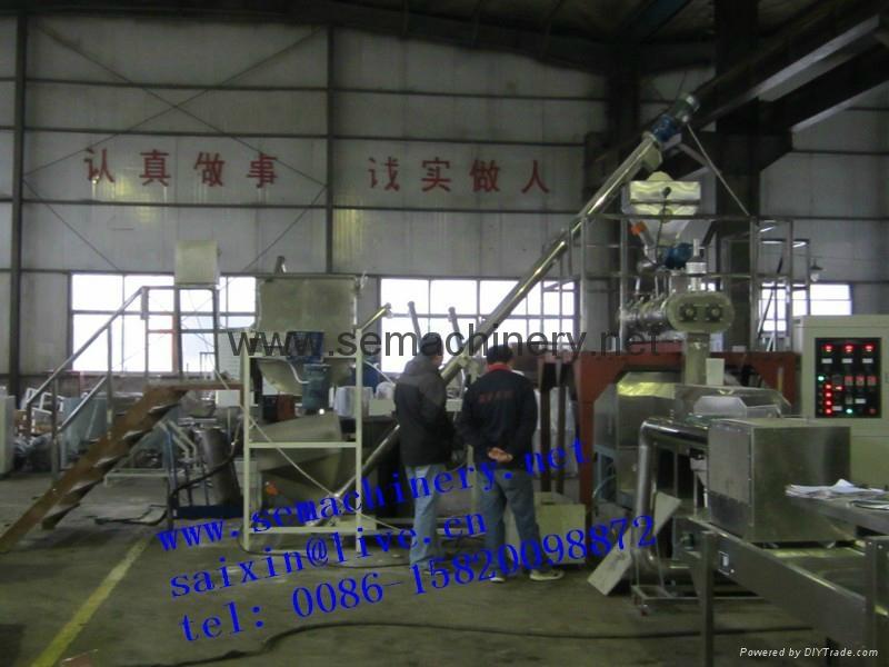 膨化魚餌飼料生產線 2
