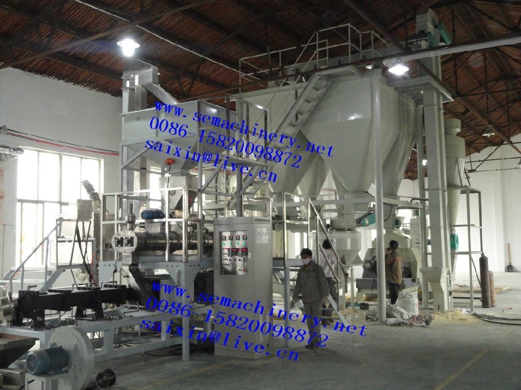 大型膨化狗糧生產設備 1