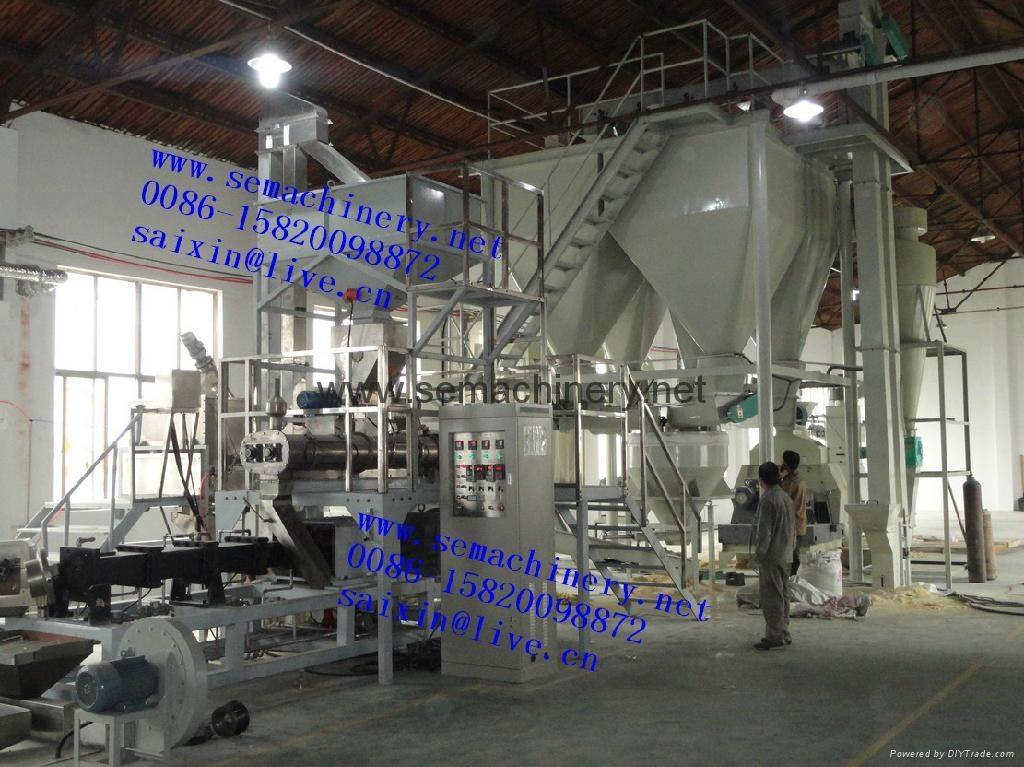 大型膨化漂浮魚飼料生產設備 4
