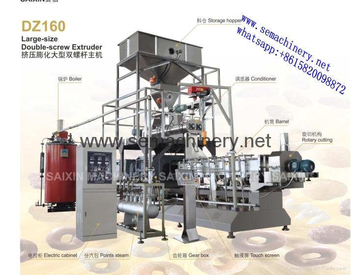 Pregelatinized modified starch extrusion machine 1