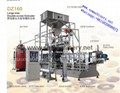 Pregelatinized modified starch extrusion machine 1