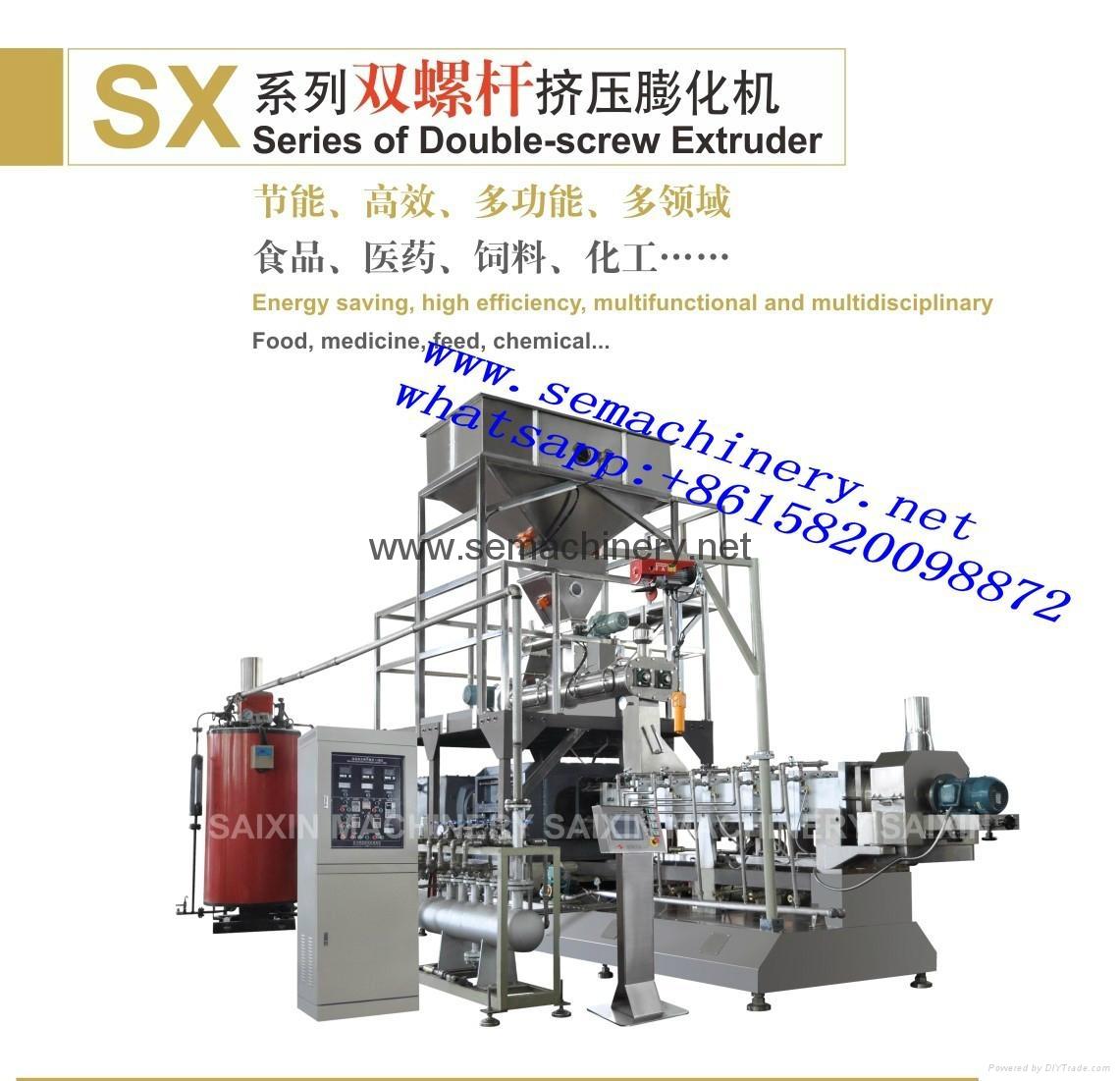 Pregelatinized modified starch extrusion machine 3