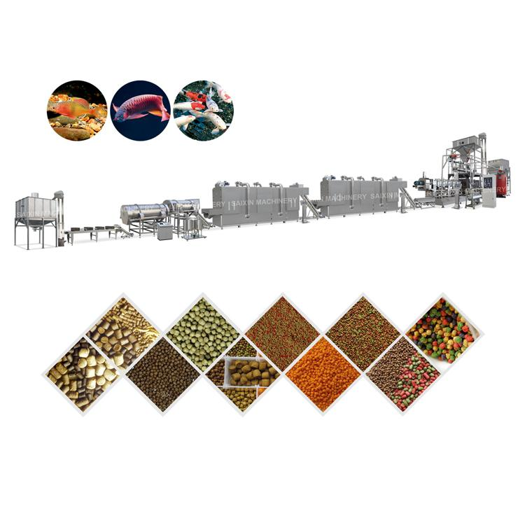 Full animal feed production line pet dog food machine with lowest price 6