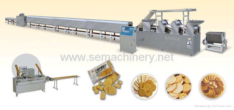 全自动饼干生产线 1