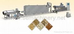 大豆花生组织蛋白、素肉食品生产线