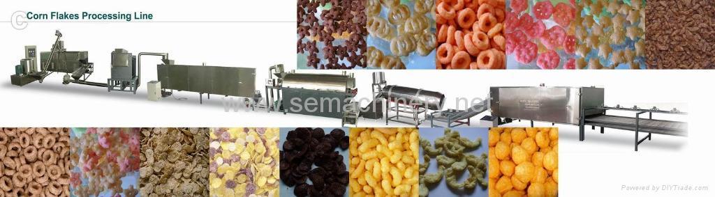 早餐谷物食品生产线 1