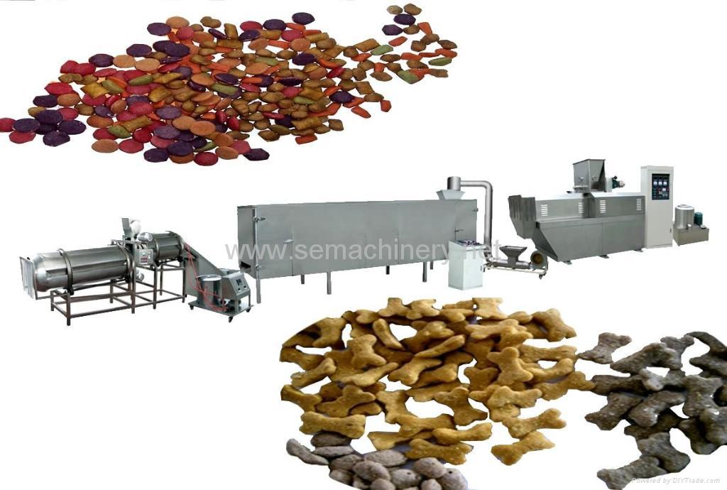 寵物食品、水產飼料生產線 1