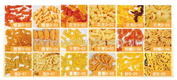 螺旋薯片虾片贝壳圆管刺螺生产线 2