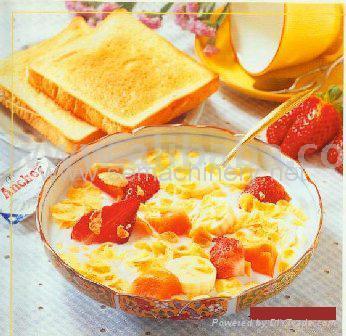 玉米片早餐谷物生产线 4