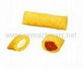 麦烧夹心米果麦香鸡块休闲食品生产线 5