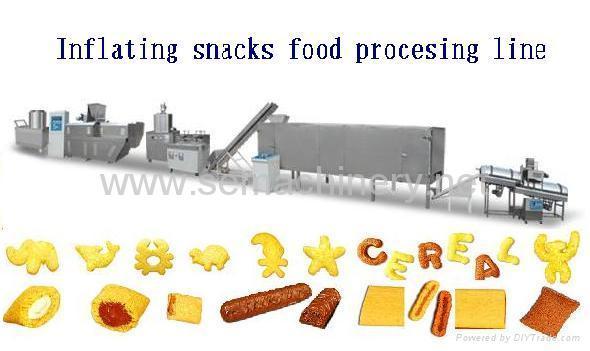 锅巴夹心食品生产线 1